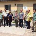 Governor Ige tours the Kawaihae Harbor Pier 2
