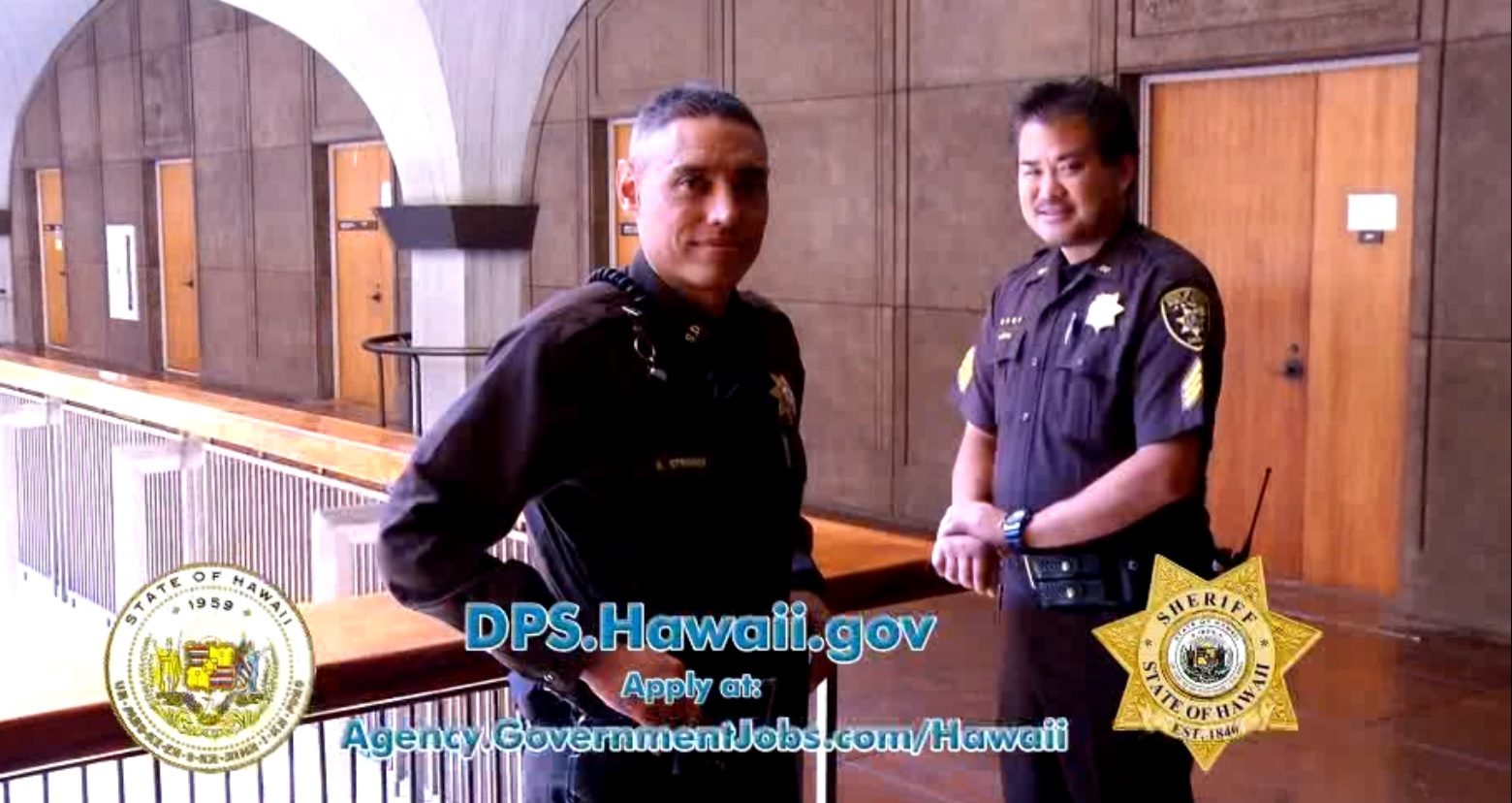 David Y Ige Psd News Release Sheriff Recruitment To