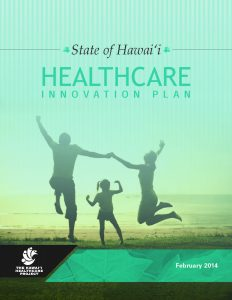 Hawaii Healthcare Innovation Plan front page