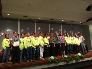 The Department of Human Services' Team of the Year from the Hawaii Public Housing Authority.