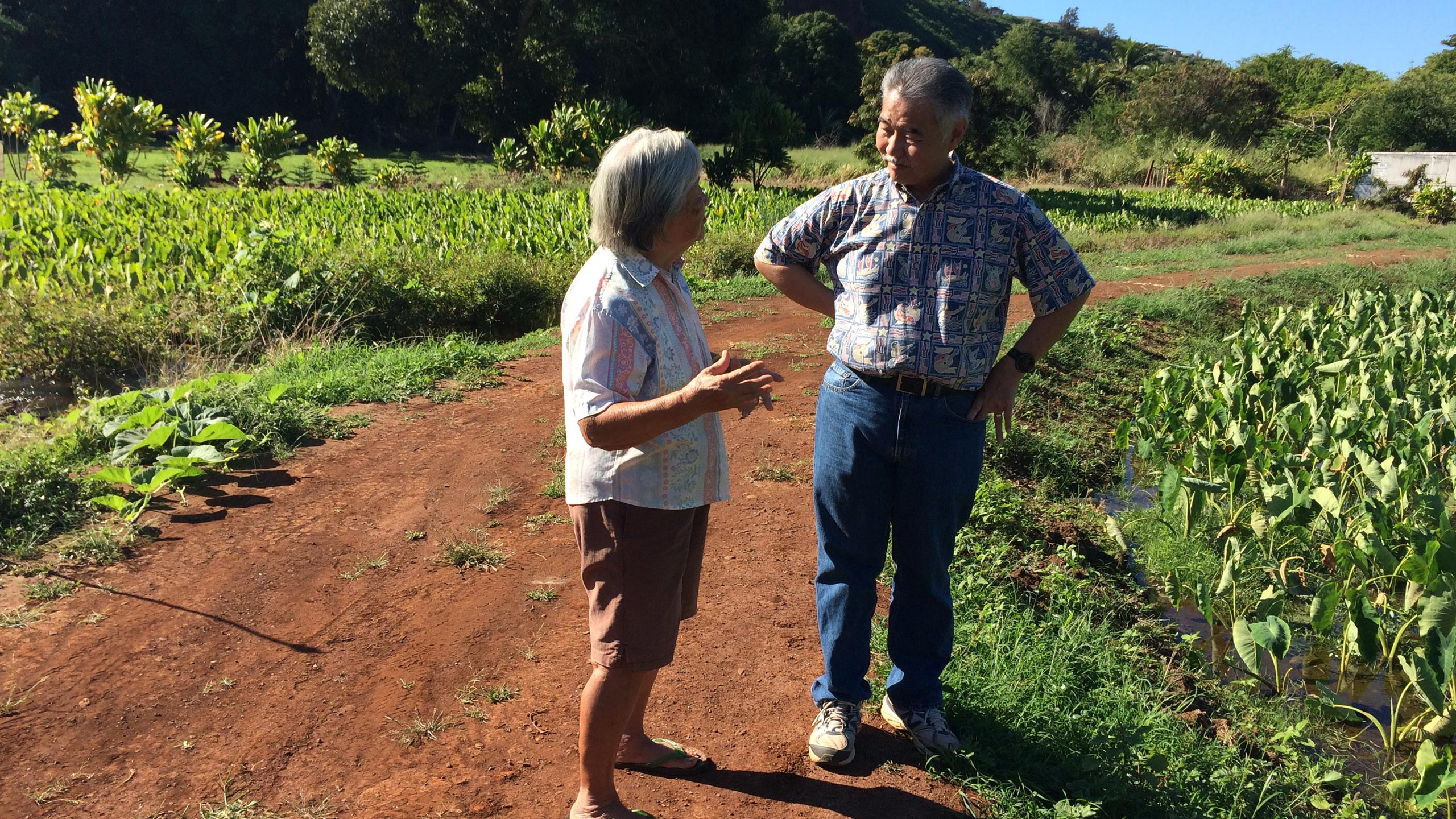 Governor Ige and Farmer
