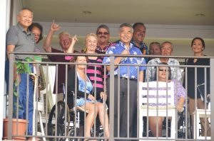 Kaua'i seniors with the governor for the second phase of Kaniko'o, an affordable 90-unit housing project.