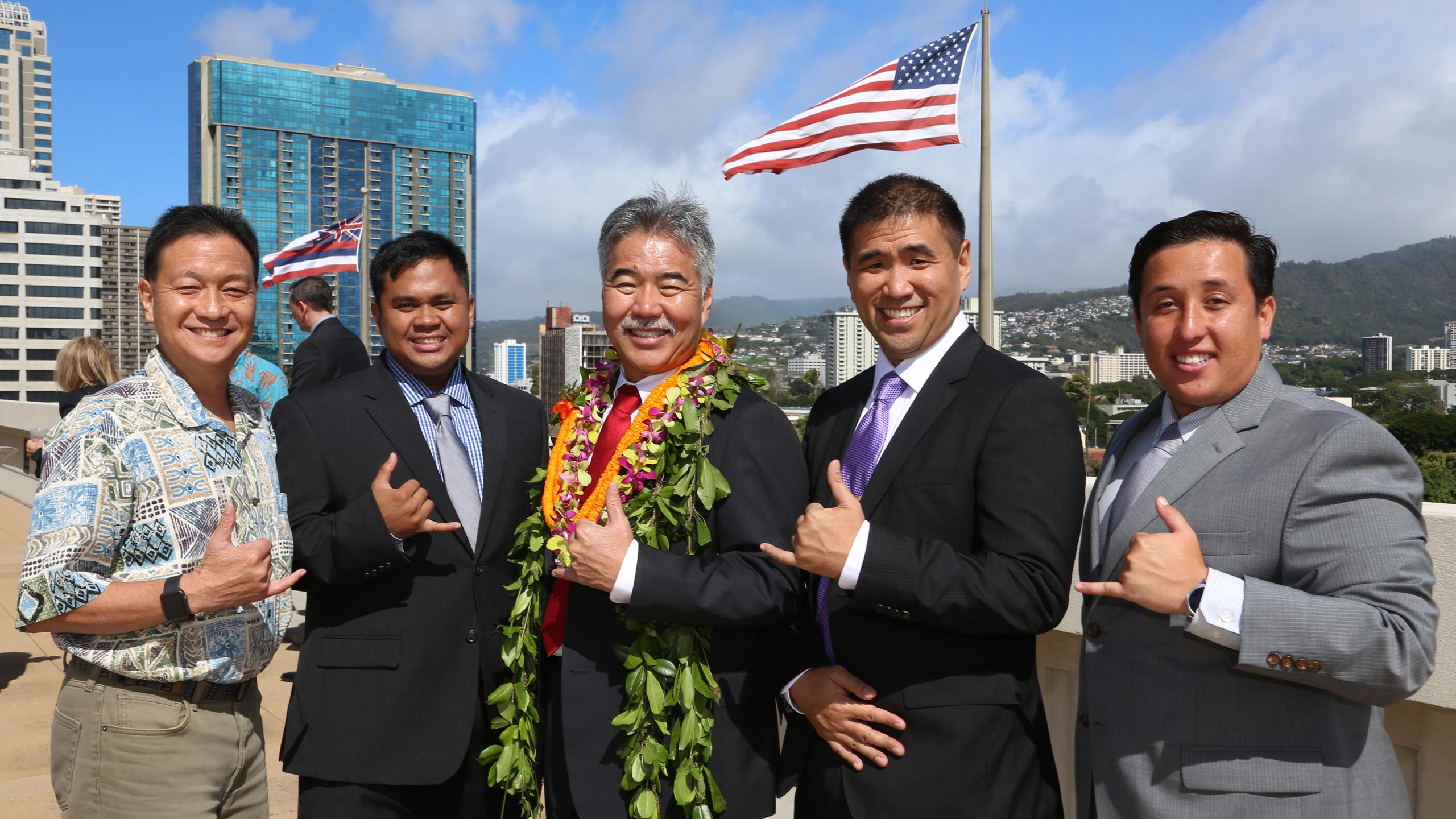 Governor Ige and IT Professionals