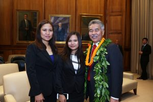Rovy Dipaysa is anticipated to being one of 13 students to complete all requirements for an Associate of Artss degree from Leeward Community College by the time they graduate from Waipahu High School in May 2018.