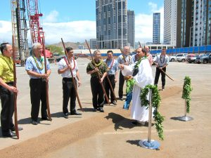 PROJECTS COMING ONLINE: Gov. Ige and developers break ground at Keauhou Lane, an affordable rental project
