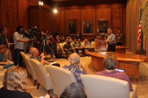Governor in May 3 news conference on legislative funding