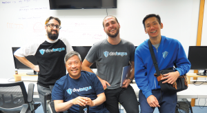 DEVLEAGUE: Jason Sewell, John Carlson, Victor Lee and Russel Cheng