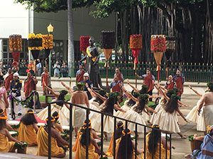 ALOHA, LILI'U: Hula halau pay tribute to the queen at the State Capitol