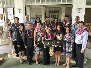 Hawai'i's top teachers for 2018 honored at Washington Place.