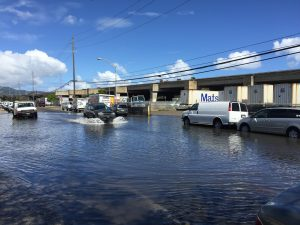 Flooding in Mapunapuna and Sand Island already threatens businesses.