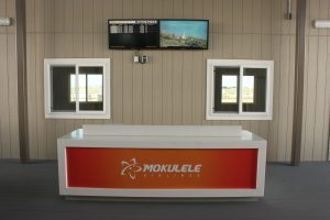 The new Mokulele Airlines counter at the Daniel K. Inouye International Airport Terminal 3 will open May 29, 2018.
