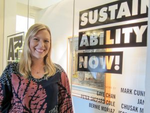 Danielle Bass, sustainability coordinator in the state's Office of Planning.