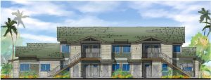 Phase I of Keahumoa Place near the Kapolei Rail Station will provide affordable family rentals for 65 years.
