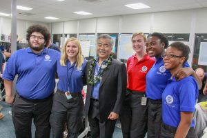 Gov. Ige thanks FEMA workers for helping the state in its disaster recovery.