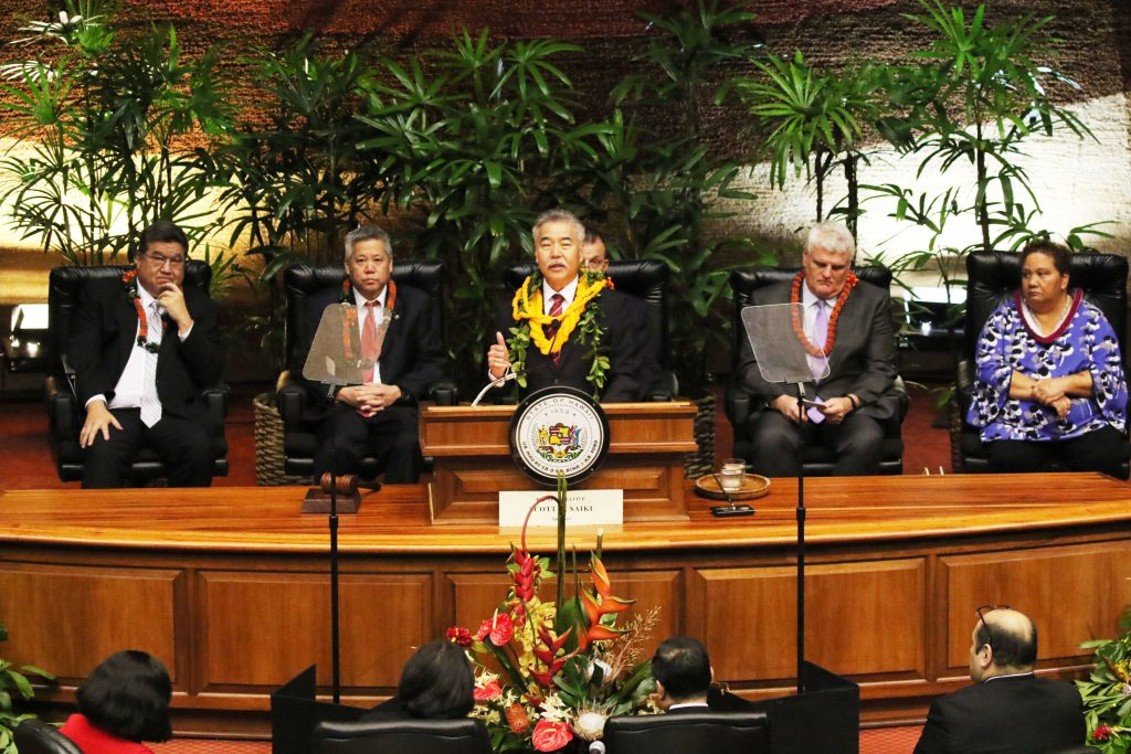Governor Ige describes the future he envisions for Alekah Garcia.
