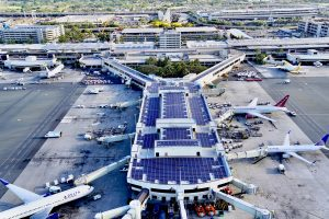 Some 24,000 solar panels have been installed throughout the Daniel K. Inouye International Airport, including the Central Concourse in Terminal 2.