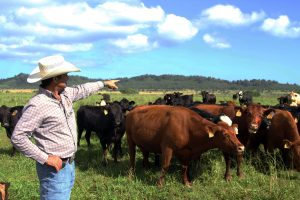Third-generation rancher Bobby Farias of Kunoa.