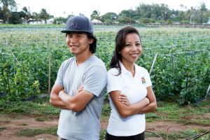 Next Ag generation: Ho Farms' siblings Neil and Shin Ho.