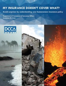 """My Insurance Doesn't Cover What?"" is one of DCCA's many useful resources."