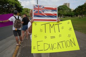 Many TMT supporters believe in the benefits for students in STEM education.