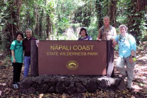 Protecting areas such as the Nāpali Coast and coral reefs is a high priority for DLNR and the Ige administration.