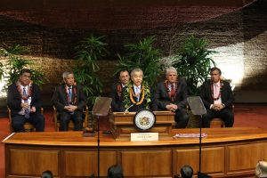 Governor David Ige describes plans to help the state's working families.