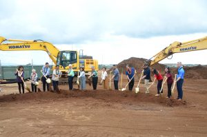 The groundbreaking in November for Mutual Housing's Kulia at Ho'opili, an affordable rental project.