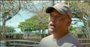 Guy Figueroa, Kapolei Middle School head custodian, describes the precautions being taken to protect students, teachers and staff.