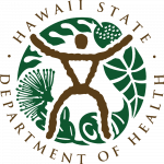 Official logo of the State of Hawaiʻi Department of Health.