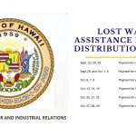 The DLIR has launched its Lost Wages Assistance Program with a benefits schedule through October.