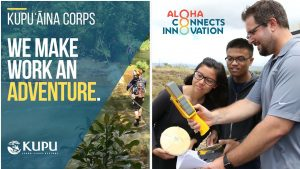 Two different job training tracks are offered in conservation or innovation sectors.