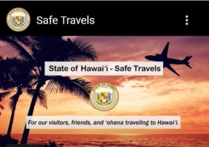 The Safe Travels website provides information and a digital form for travelers.