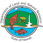 Official logo of the State of Hawaiʻi Department of Land and Natural Resources.