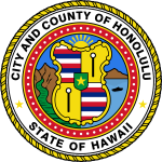 Seal of the City and County of Honolulu.