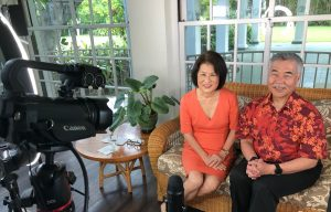 Governor and Mrs. Ige shared their congratulations from Washington Place.