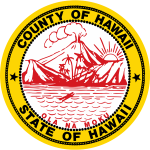 Seal of the County of Hawaiʻi.