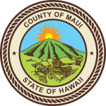 Seal of the County of Maui.
