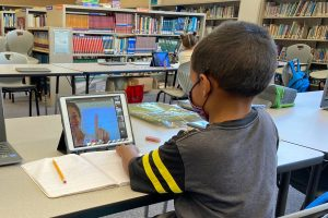 Public school students statewide are learning remotely.