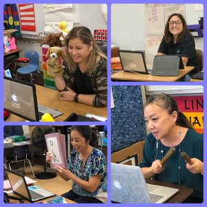 Teachers at Kapolei Elementary and many other schools are finding creative approaches to teach virtually.