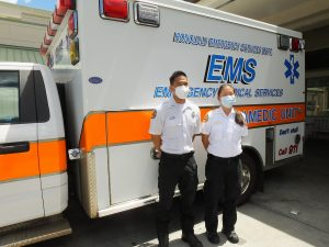 First responders and essential workers have been on the job, despite the pandemic.