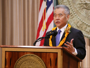 Governor Ige outlines his vision for the state.