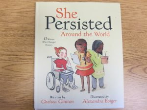 Mrs. Ige's book choice for her ʻŌlelo series features 13 women across the globe who changed history.