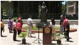 At the Aug. 26 news conference, Native Hawaiian leadership paid tribute to Queen Liliu'okalani's actions in 1881 to stop a smallpox epidemic and called for more people to get vaccinated against COVID-19.