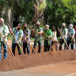 Governor Ige joined representatives from developer Highridge Costa and the state's Hawaii Housing Finance and Development Corp. to kick off the Kokua project for seniors. The governor said the project is part of the state's continuing commitment to support affordable housing, especially at the most challenging levels for low-income households.